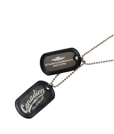 CANADIEN DOG TAG*