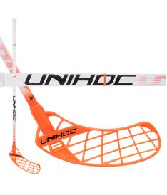 UNIHOC STICK Unity Feather Composite 28 white 100 cm