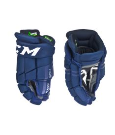 Hokejové rukavice CCM 30K navy/white senior - 14