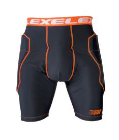 EXEL S100 PROTECTION SHORT black/orange