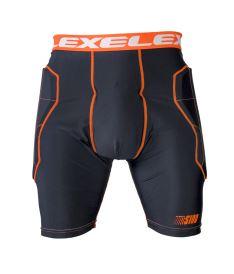 EXEL S100 PROTECTION SHORT black/orange