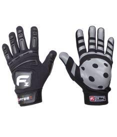Brankářské florbalové rukavice FREEZ GLOVES G-180 black JR