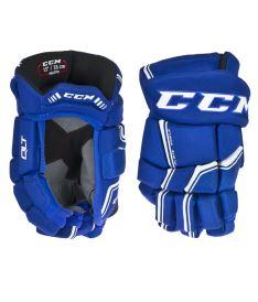 Hokejové rukavice CCM QUICKLITE 270 royal/white senior