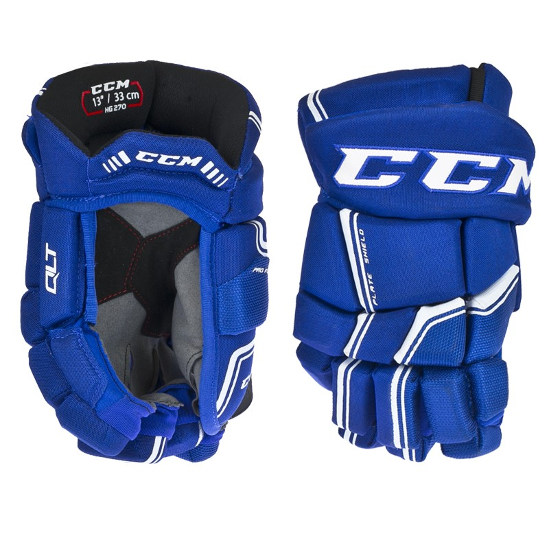 Hokejové rukavice CCM QUICKLITE 270 royal white senior b0c2dcf6d9