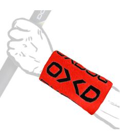 OXDOG TWIST LONG WRISTBAND red/black