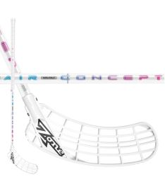 ZONE STICK ZUPER AIRLIGHT 26 white/rainbow 104cm