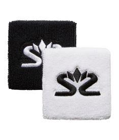SALMING Wristband Short 2-pack White/Black