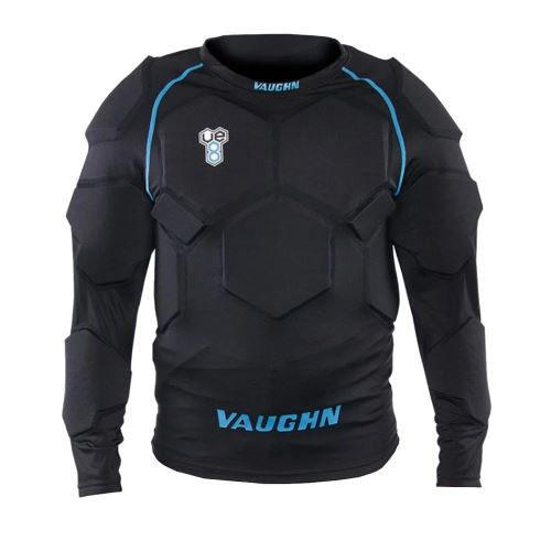 VAUGHN PADDED GOALIE COMPRESSION SHIRT VE8 black senior