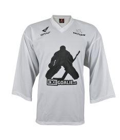 Golmanský hokejový dres FREEZ GOALIE JERSEY WHITE