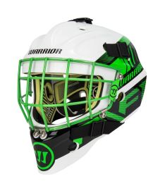 BRANKÁŘSKÁ MASKA WARRIOR RITUAL F1 white/neon green youth