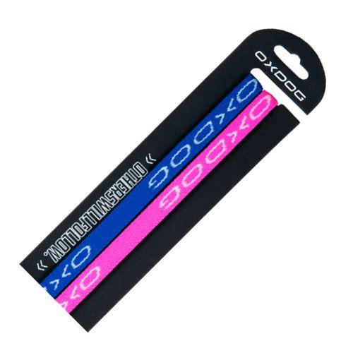 OXDOG SLIM HAIRBAND pink + blue 2PACK