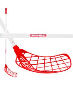 ZONE STICK HYPER AIR SL 27 white/red 104cm (D+)