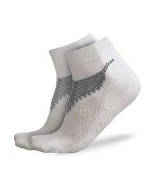 FREEZ ANCLE SOCKS 2-pack white