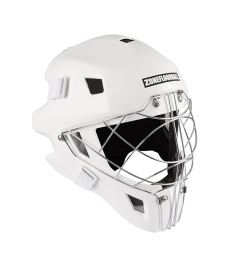 ZONE GOALIE MASK MONSTER CAT EYE white SR