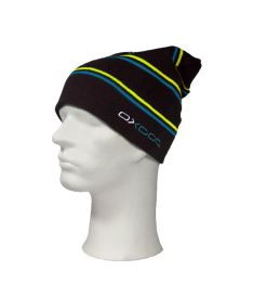 Čepice OXDOG JOY WINTER HAT black/turquoise/yellow - L/XL