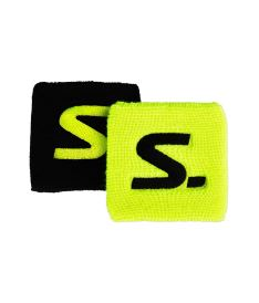 SALMING Wristband Short 2-pack Yellow/Black