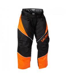 SALMING Atlas Goalie Pant JR Orange/Black