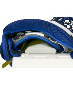Lapačka VAUGHN CATCHER VELOCITY V7 XF CARBON PRO  white/navy/yellow senior - REG Bartosak P