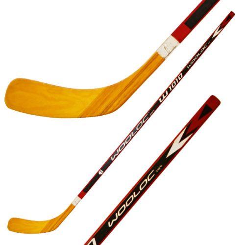 Hokejka WOOLOC W1010 WOOD Stick 60