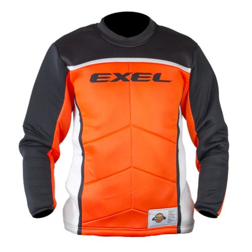 EXEL S60 GOALIE JERSEY orange/black XXL - Brankářský dres