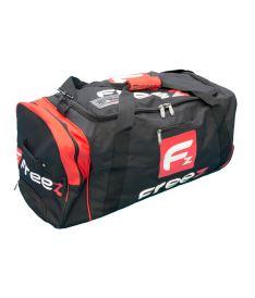 Sportovní taška na kolečkách FREEZ Z-180 WHEEL BAG BLACK-RED