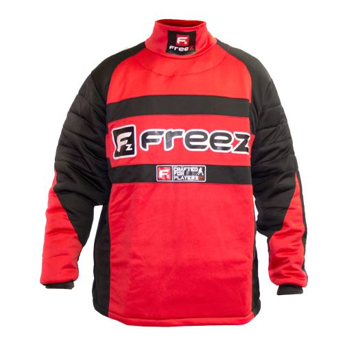 FREEZ Z-80 GOALIE SHIRT BLACK/RED junior