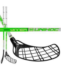 UNIHOC STICK WINNER 35 CAVITY/INFINITY white/green 96cm
