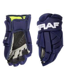 Hokejové rukavice GRAF G45 navy senior